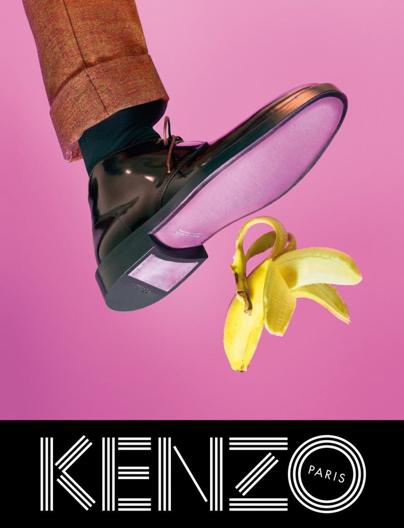 Kenzo fw 2013 ad campaign by TOILERPAPER