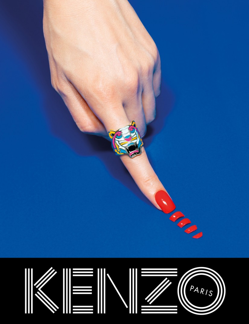 Kenzo fall/winter 2013 ad campaign by TOILETPAPER
