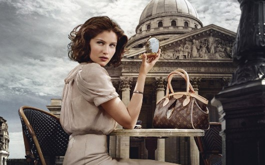 Laetitia Louis Vuitton campaign