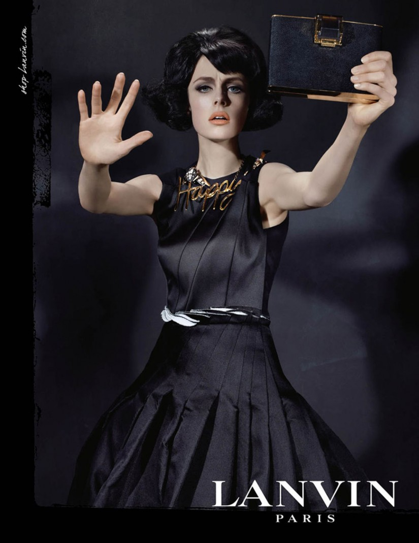 Edie Campbell by Steve Meisel for Lanvin FW2013