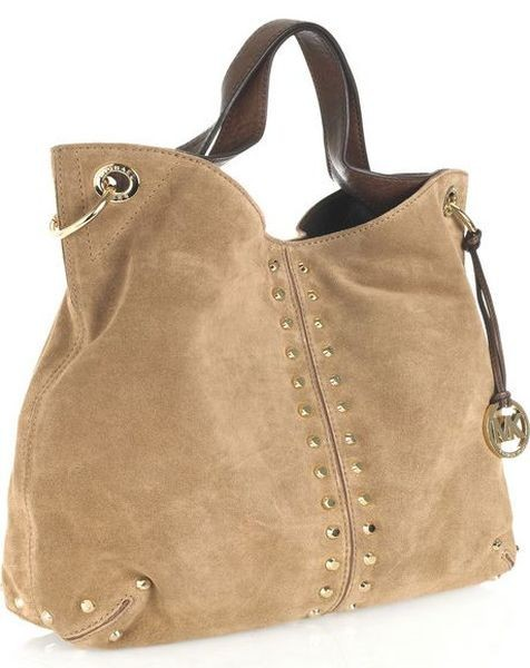 Large Suede Tote