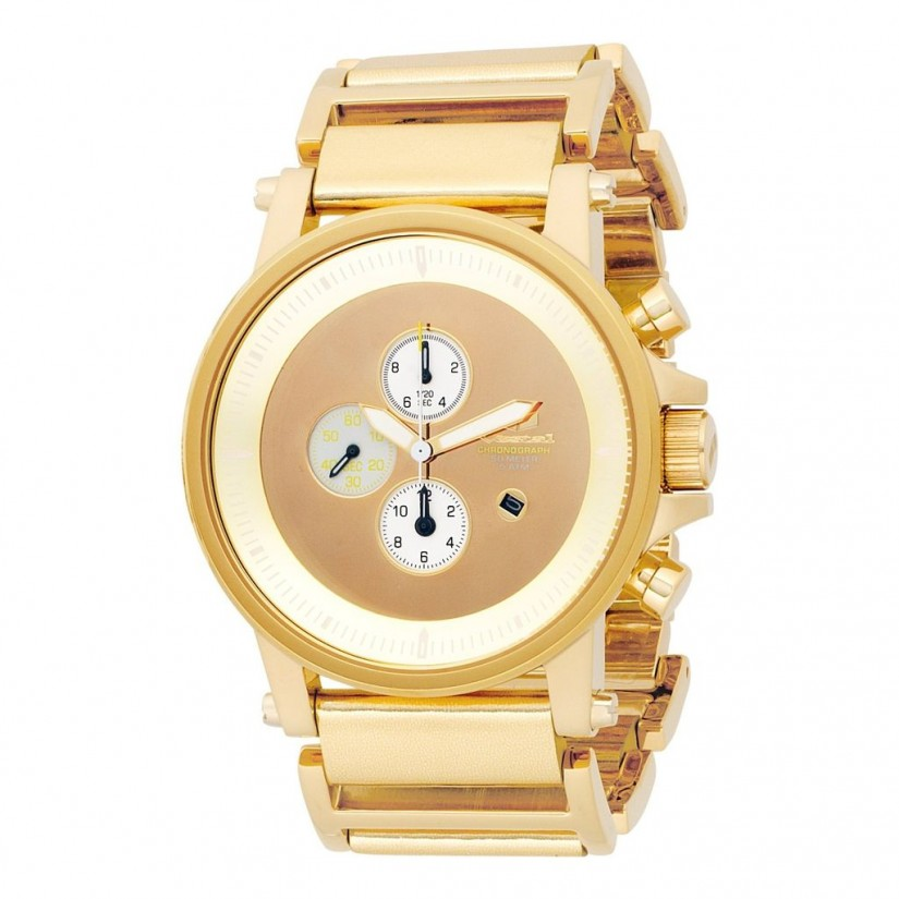 Leather Gold Watch