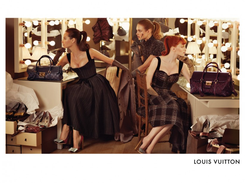 Louis Vuitton fw 2010/2011 ads