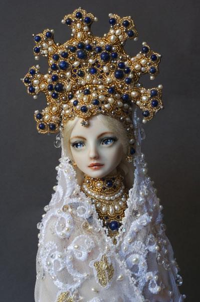 Swan Princess doll by Marina Bychkova
