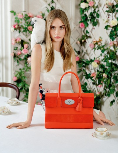 Mulberry SS 2014 ad campaign shot by Tim Walker