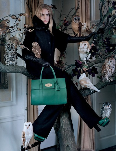 Cara Delevingne by Tim Walker for Mulberry FW 2013