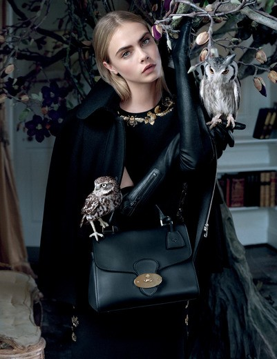 Mulberry FW 2013 ad campaign shot by Tim Walker