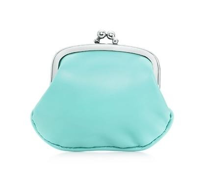 Patent-leather coin purse