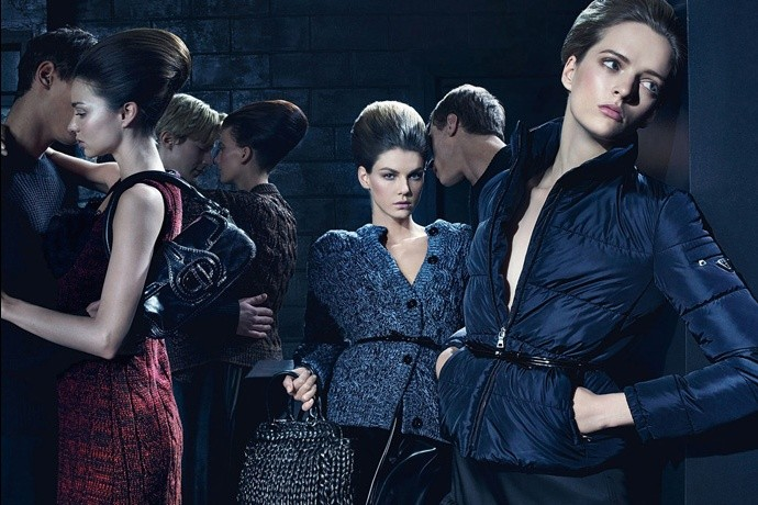 Prada fall2010 ad campaign womenswear 02