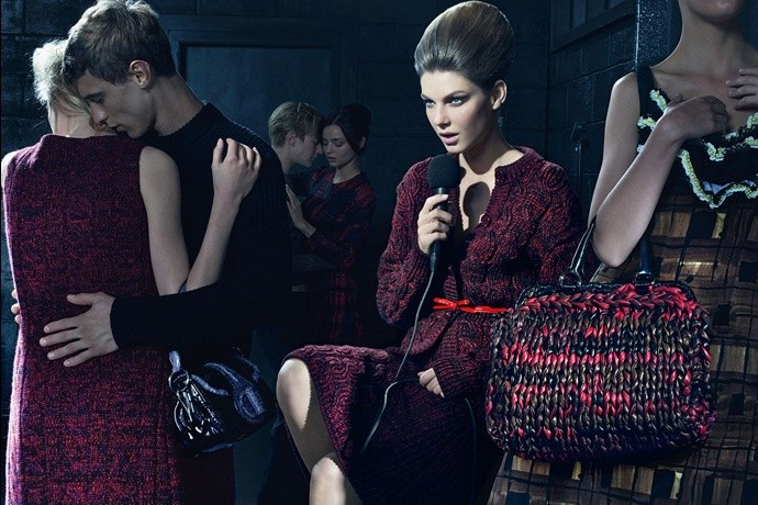 Prada fall2010 ad campaign womenswear 06
