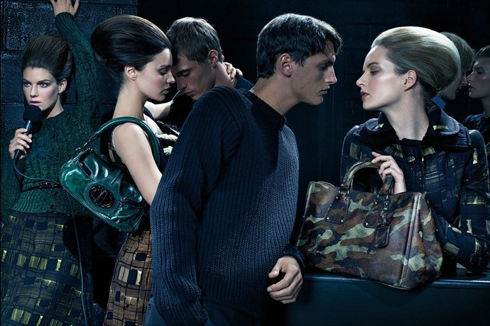 Prada fall2010 ad campaign womenswear 07
