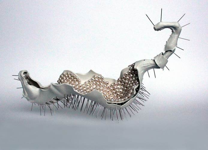 Sari Liimatta, Genocides jewelry sculpture, 2011