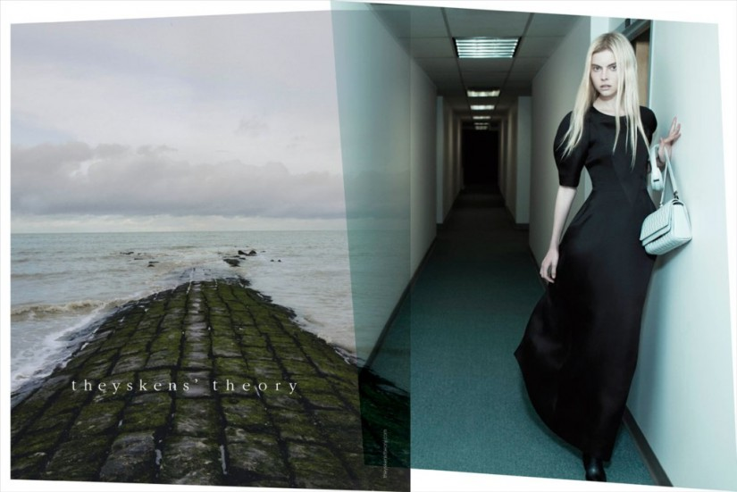 Theyskens' Theory ss 2013 ad by Willy Vanderperre