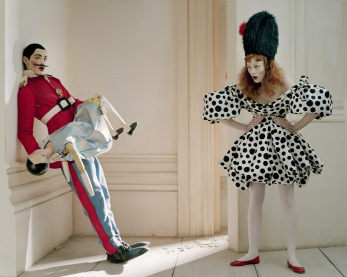 Karen Elson and Alex Gilbert by Tim Walker, British Vogue, 2008