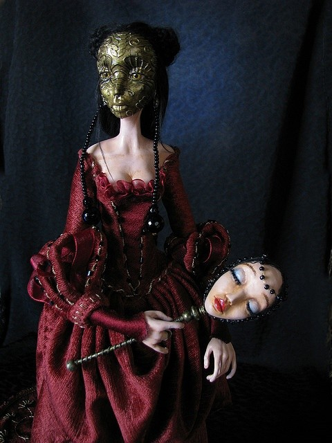 Mask art doll by TirelessArtist