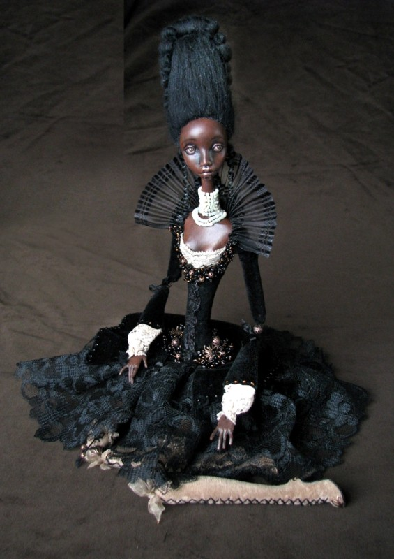 Onyx art doll by TirelessArtist