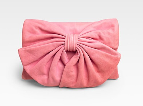 Valentino Bow Flap Convertible Clutch