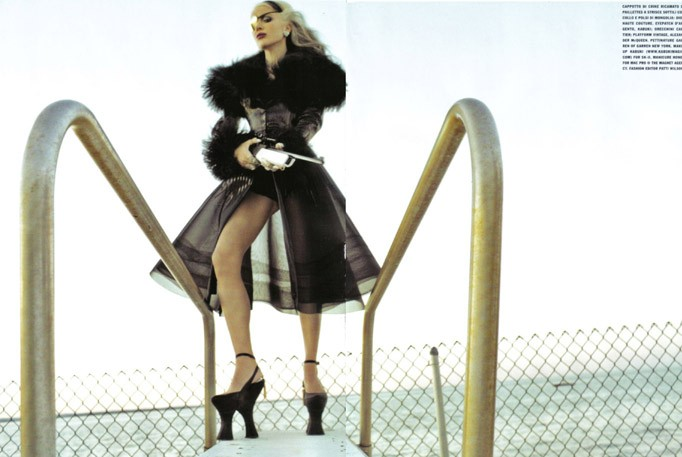 Daphne Guinness Vogue Italia - 9
