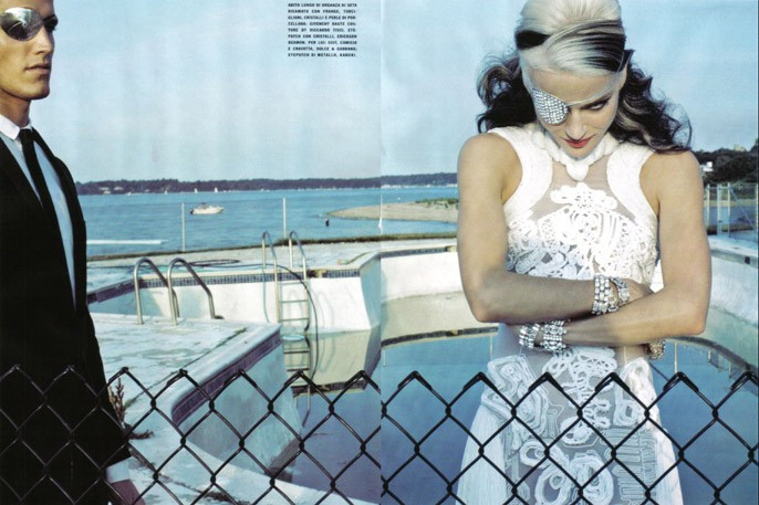 Daphne Guinness Vogue Italia - 5