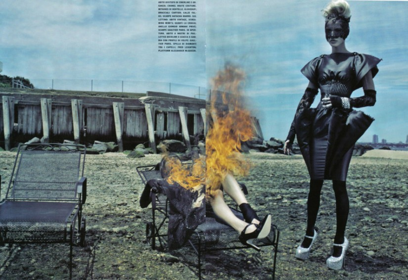 Daphne Guinness Vogue Italia - 7