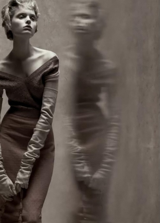 Vogue Italia Meisel reflections