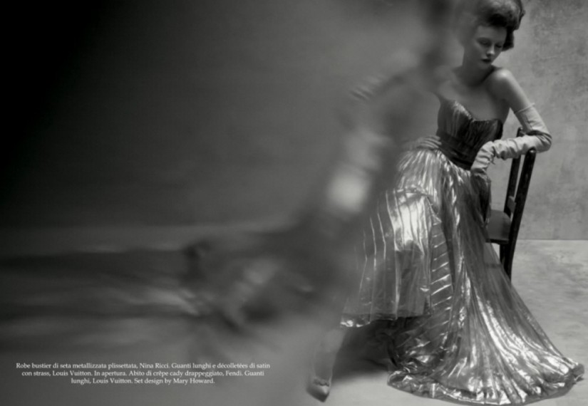 Reflections of Glamour Vogue Italia
