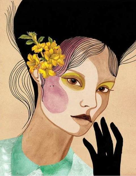 In Bloom illustration by Peggy Wolf