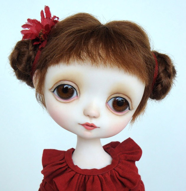 Sarah doll by Ana Salvador
