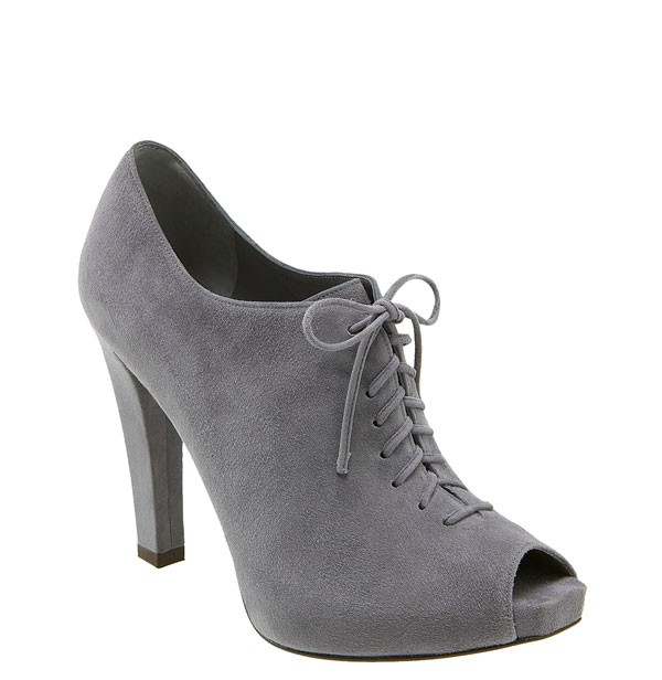 Peep-toe oxford