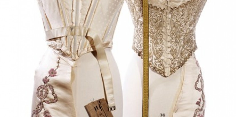 Two Bodices of Evening Gowns