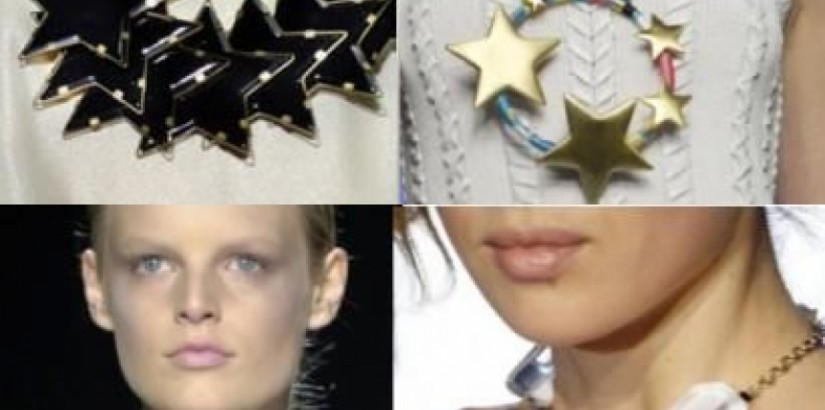 Necklace stars trend