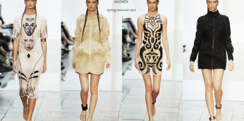 Anne Sofie Madsen spring 2012 collection at CFW