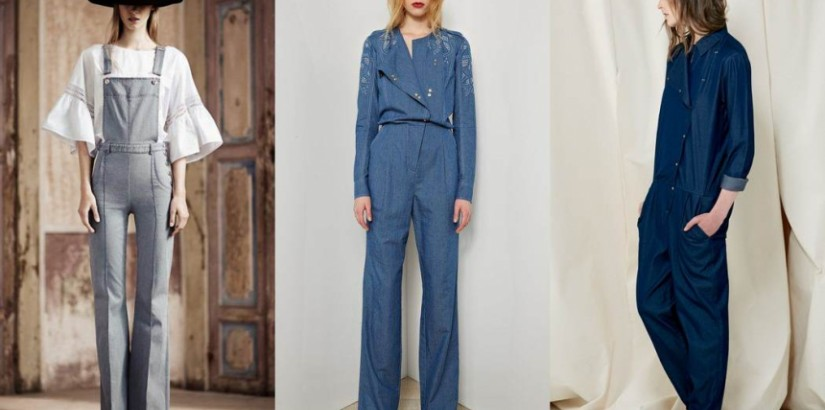 Denim trends resort 2014: overalls and jumpsuits