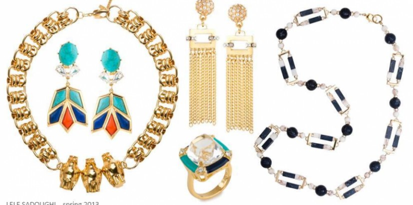 Lele Sadoughi spring 2013 jewelry collection