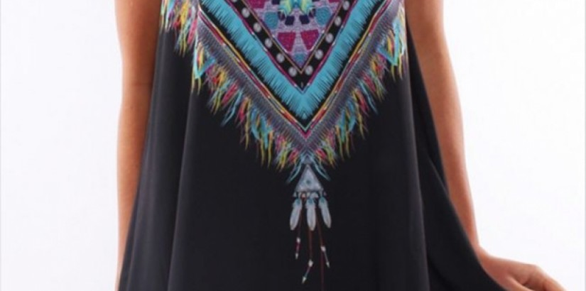 Lakota Black Dress