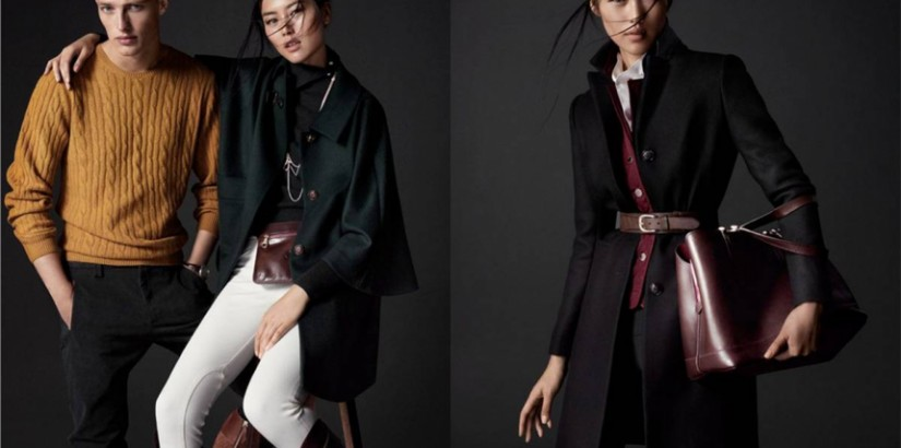 Liu Wen and Victor Nylander for Massimo Dutti Equestrian