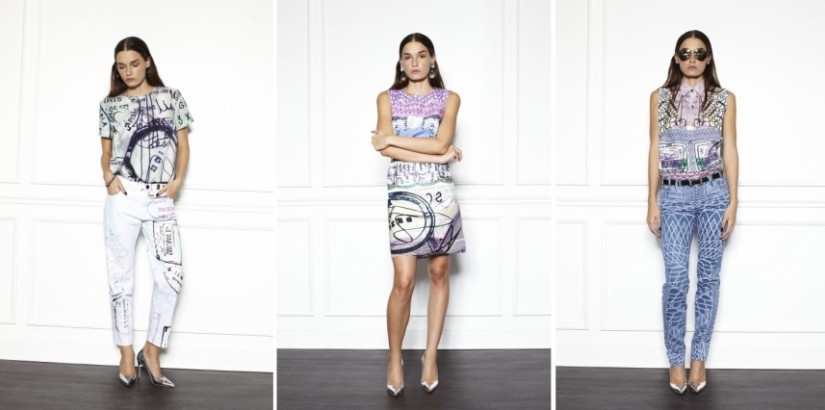 Mary Katrantzou and Current/Elliott collection