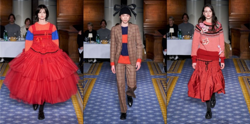 Molly Goddard's Fall/ Winter 2020-2021 collection