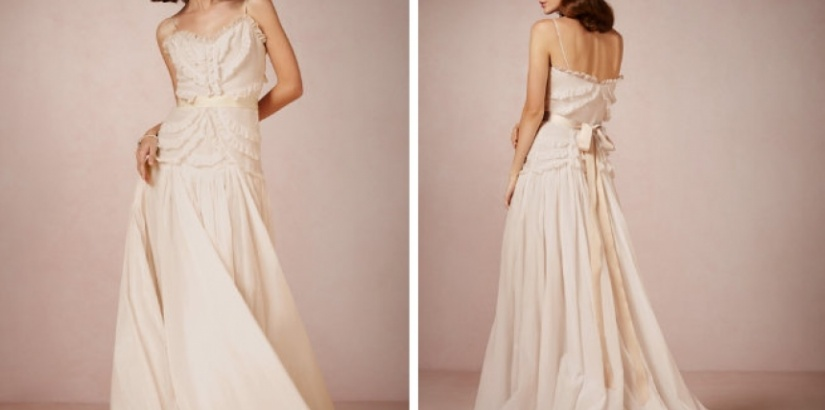 Peter Som & BHLDN wedding dresses