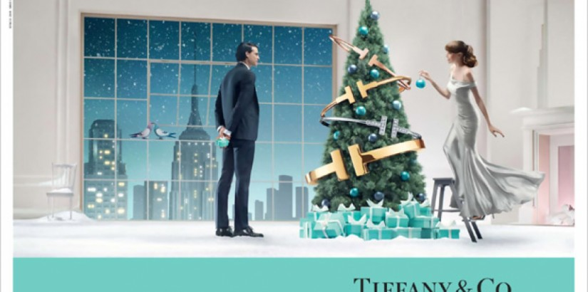 Tiffany & Co. Christmas advertising campaign