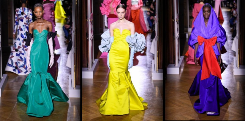 Valentino Spring/Summer 2020 collection at Paris Fashion Week