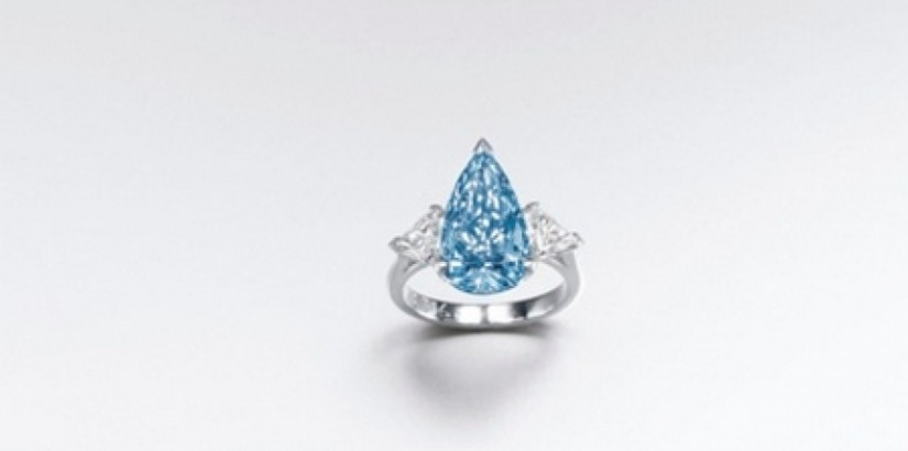 Blue Diamond At Sotheby's