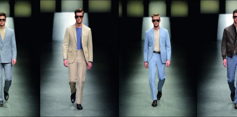 Canali fashion collection spring-summer 2011
