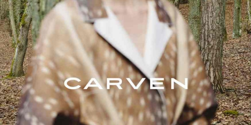 Marine Deleeuw, Carven ad photo by Viviane Sassen