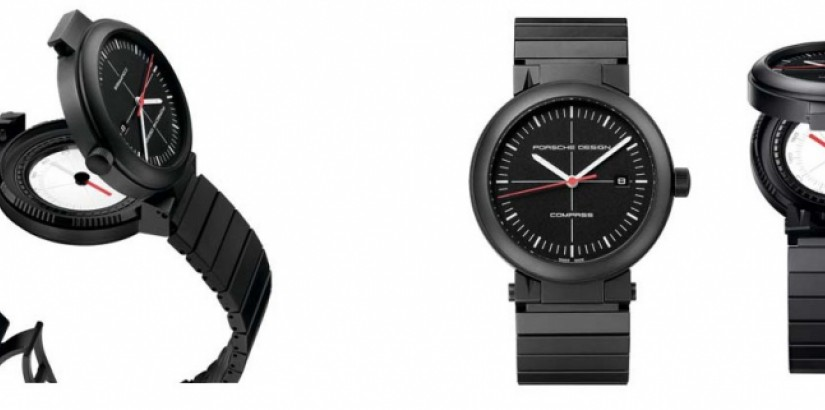 Porsche Design P 6520 Compass Watch
