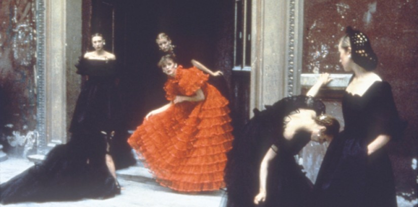 Deborah Turbeville, Valentino Collection, 1977