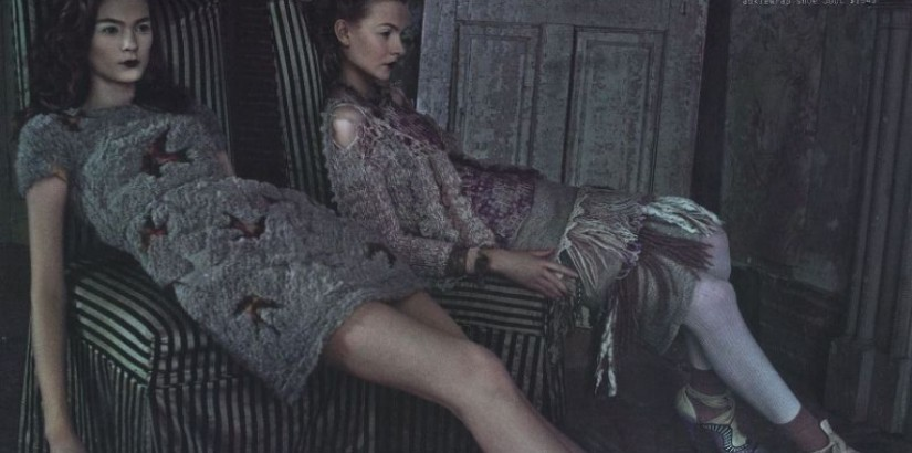 Deborah Turbeville, Barneys, fall 2010 catalog