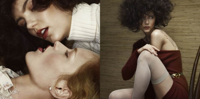 Agnes Nabuurs, Anne Koster by Erwin Olaf, Vogue NL,  February 2013