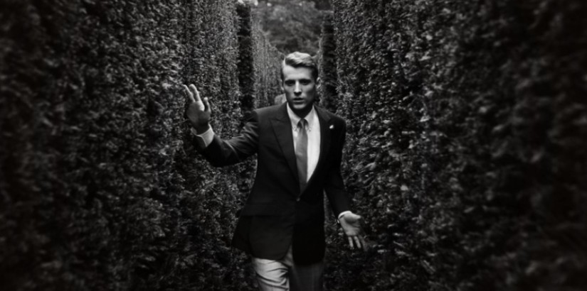 George Barnett for Hardy Amies ad campaign