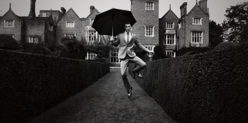 Hardy Amies ad campaign by Roger Rich